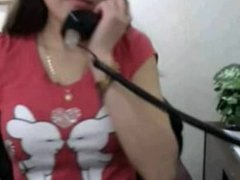 Chrissy from 1fuckdate.com - Asian babe masturbates on cam at w