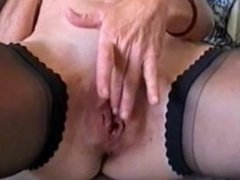 Tyler from 1fuckdate.com - Great stolen video of milf masturb