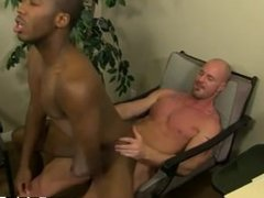 Taboo sex xxx young gay JP gets down to service Mitch's stiff sausage
