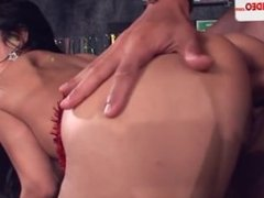Anal at the gang bang HD Porn