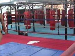 Megan Jones in ring