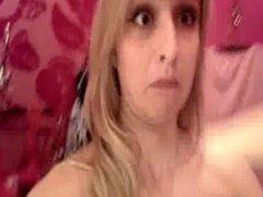Hot Blonde Masturbating in Changing Room