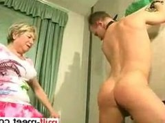 She is from MILF-MEET.COM - young guys and women