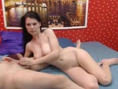 Nice boobs teen blowjob. Lavette from 1fuckdate.com