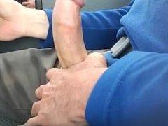 masturbated in the car