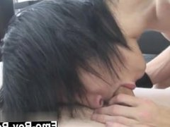 Emo gay fucking gay Cute Emo Josh Osbourne gets porked by new stud Leo