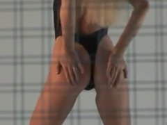 Contortionist Zlata - Erotic Steel Cage Performance
