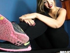Ceara Lynch sneaker
