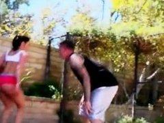 Twerkin On That Dick Kendra Lust big tits in sports basketball game