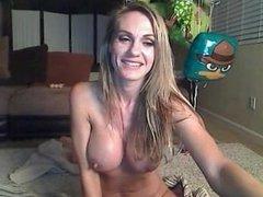 Kimberly LIVE on 1fuckdate.com - Hot anal show