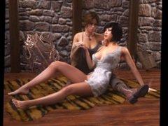 3D Lesbians 13