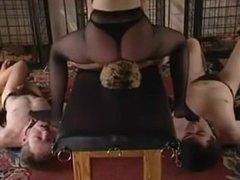 Mistress Facesitting and Foot Worship