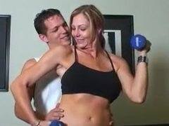 fit amateur milf from ADULTLOVEDATING.COM memphis fucks younger guy