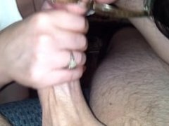 Hairy Pussy Mom Gets Fucked By Big Thick Dick And Sucks For Oral Creampie