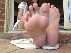 Thai asian feet 2. Laureen from 1fuckdate.com