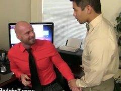 Gay boy rimming Pervy chief Mitch Vaughn ultimately digs up enough