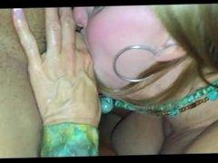 Hotwife from Sexdatemilf.com swinger sucking a huge cock