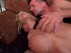 Big boobed MILF fucked in ass