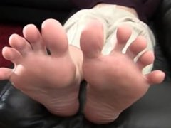 Feet toes and soles