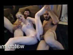 Hardcore threesome sex with hippies - 666jizzcams.com