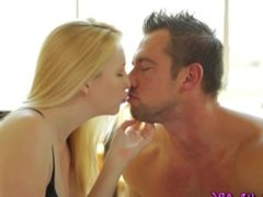 Teen blondie gets fucked