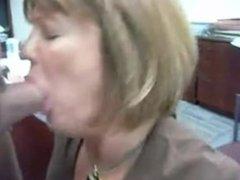 Mature secretary performs her job from Sexdatemilf.com