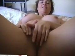 Mature strips plays and sucks cock - Fuck from MILF-MEET.COM