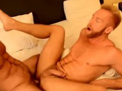 Muscular gay hairy blond men The Boss Gets Some Muscle Ass