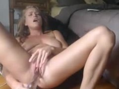 Hot Busty Blonde Big Squirt