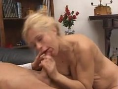Super sexy busty mom analized and facialized by her lover