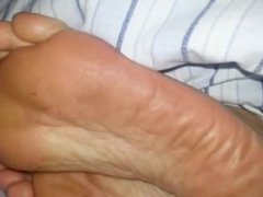 Sleepy foot fetish & Dirty feet 3