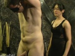 male slave tickled by mature mistress femdom