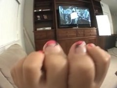 Angel Rose Feet Pov