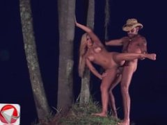 Leticia Blond Some painal late at night HD Porn