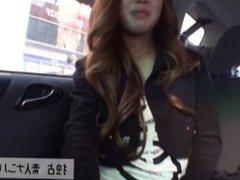 JAVGALAXY.COM - Young Slutty MILF Giving Handjob in Car