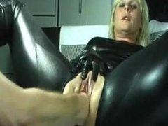 Chana from 1fuckdate.com - Lovely mature gets fisted all the