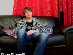 Gay XXX Ethan White gets straight down to business in this solo, kicking