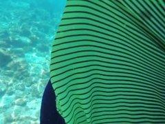 Holiday - Underwater handjob