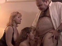 Fat guy ffm threesome