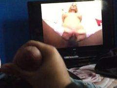 Masterbation while watching porn