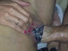 fist anal and vaginal with a friend from LOOK4MILF.COM