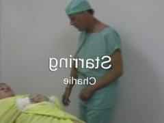 Doctor gets jerked off!!
