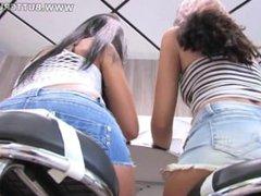 Giantess Lesbians Butt Crush