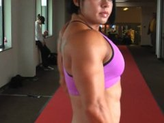 Rene Campbell fbb female muscle