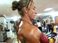 Patricia Grose fbb female muscle
