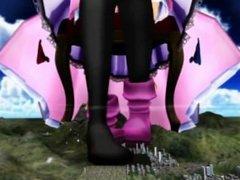 MMD Giantess - Giga Patchy