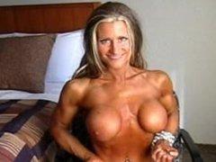 Nikki Warner fbb female muscle
