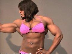 Monique Jones fbb female muscle