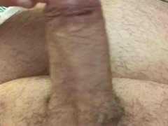 Hard dick jerking part 2 with cum and head afterpleasure