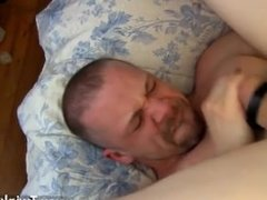 Gay hairy brown porn That boys bum is so tight around Ryan's daddy dick,
